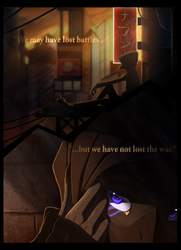 ''We may have lost battles...'' by Skaynoodle