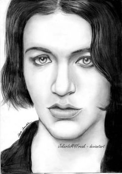 Brian Molko by JokerIsMYFreak