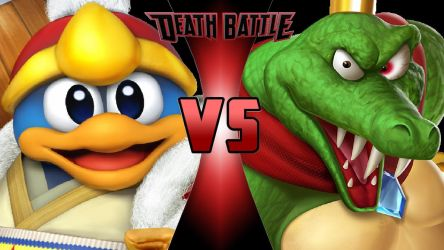 King Dedede vs. King K. Rool by OmnicidalClown1992