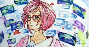 Beyond the Boundary: Mirai Kuiyama by SociallyAwkward5ever
