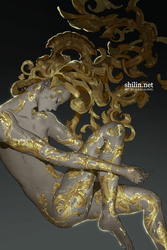 Baroque - quick piece for Patreon by shilin