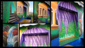 Mural Project - Magic Garden by Raygirl13