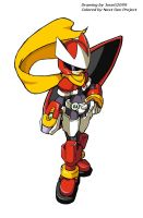 Protoman ZX by LeatherRuffian