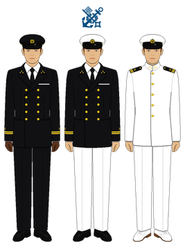 Norddeutscher Lloyd Officer Uniforms by tsd715