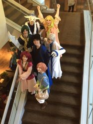 Yona of the Dawn Group Cosplay by TorahSylphwind