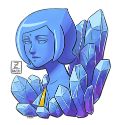 Blue Crystal by Z-Raid