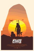 Star Wars: The Force Awakens Poster by ssfw