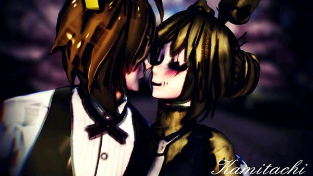 MMD I don't love her I love you by CupcakeFactory266