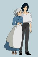 Howl's Moving Castle by WingEater