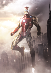 AVENGERS ENDGAME - IRON MAN MARK 85 by MizuriOfficial