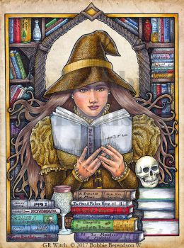 Good Reads Witch by BobbieBerendson