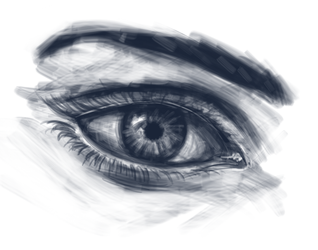 Eye Sketch by AutoConBuddy