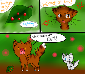 Leafpool-Evil Berries REDO by FoxLover12