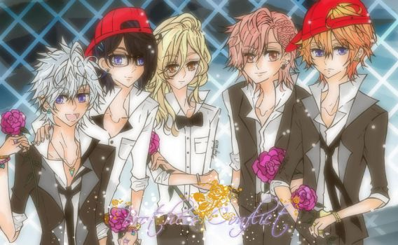 Brothers Conflict by she-be