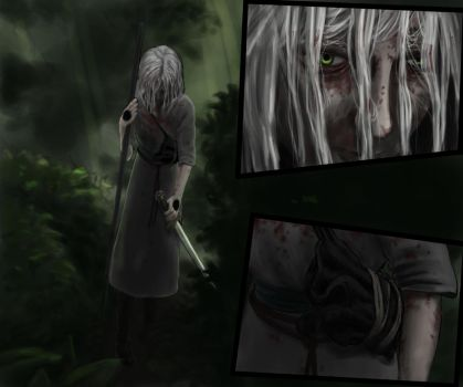 Kinslayer 2-29 Color - 'The Marked One' by Kinslayer-Comic