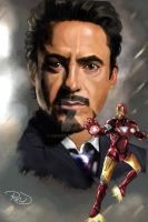 Iron-man by fafner1