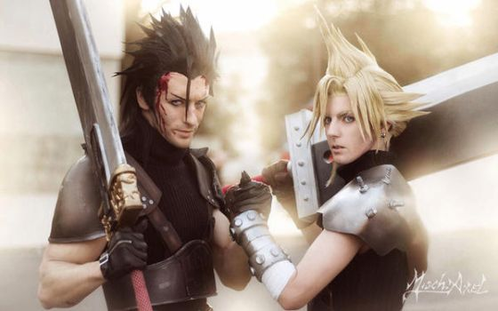 zack and cloud modified by LeonChiro ph totoro---m by MischievousBoyAilime