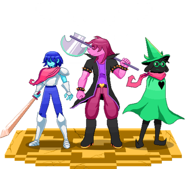Delta Rune Party Diorama by ScepterDPinoy