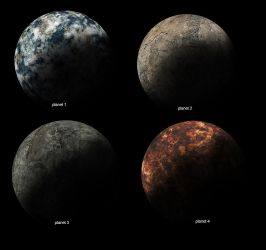 Planet Texture Pack by bloodyslash