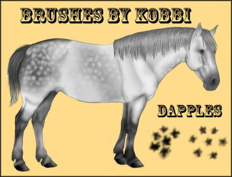 Dapple Brushes by kobbi