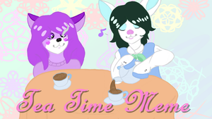 Tea Time (animation in des.) by CreativeOwlet