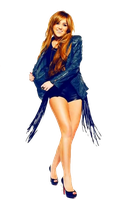 Miley png by LovatoEdictions