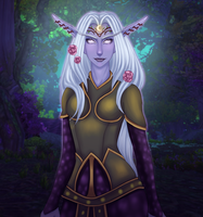 Druid of the wild by NinniDoll