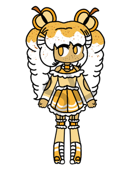 {OPEN/CHEAP AUCTION} - Golden Apple Cider Girl by CheapClothesAdopts