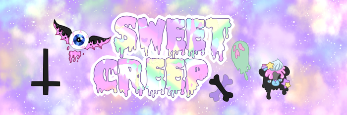 Sweet Creep Brand With BG by Luckyshortyboo