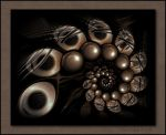 Copper Beans by aartika-fractal-art