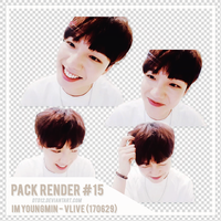 [PACK RENDER #15] IM YOUNGMIN - VLIVE (170629) by DTD12