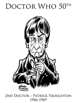 Doctor Who 2nd Doctor Patrick Troughton by SouthParkTaoist