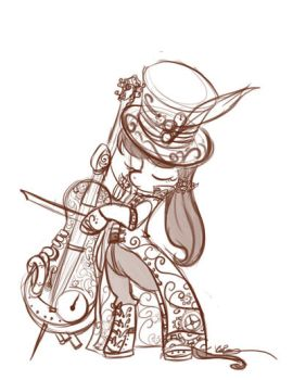 Steampunk octavia LS request by bunnimation