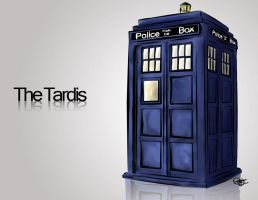 The Tardis by p-mflyer