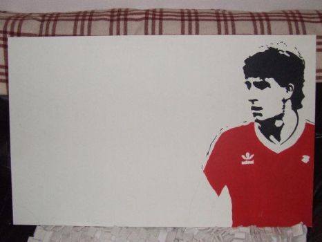 Norman Whiteside 2 unfinished by ElephantStoned