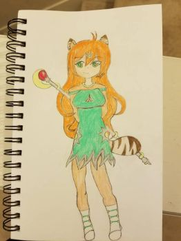 My Platybara's Magical Girl Contest Entry by Aroura180
