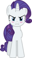 Rarity Angry by GeoNine