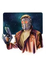 Starlord sketch color by GIO2286