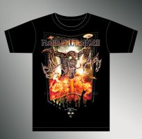 IRON MAIDEN France TS design by stan-w-d