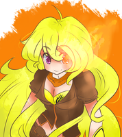 Yang Xiao Long Print (Version 1) by SilverKnight27