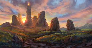 Elvenar - Summer Event Loading Screen by Chris-Karbach
