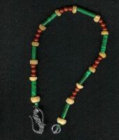 Malachite Bone Anklet by shetakaey