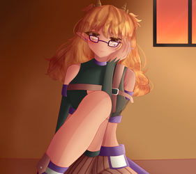 [contest prize] Erika (i hate this-) by Greenicecream-chan