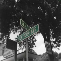 Elm St. and New York Ave by jbrice