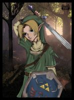 Link From Zelda Collab by l3xxybaby