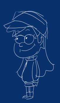 Mabel // quick sketch by NowhereRain