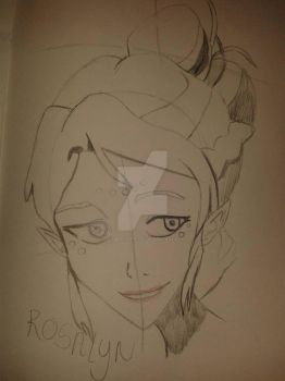 Rosalyn. (incomplete) needs colour by CatgirlLizzie1234