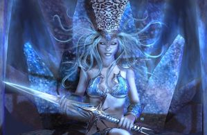 Frost Queen by Karaliina