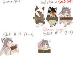 Slots still available for 3.50 EACH (Open) by Gerundive