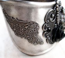 Steampunk - Gothic Cuff Watch2 by Aranwen